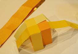 組木細工のような紙の箱3 │ takeopaper.com + 田中千絵