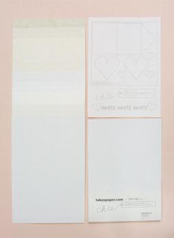 takeopaper.com + 田中千絵 WHITE WHITE WHITE ~2月 Let it Snow~