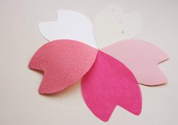 桜の花びらのカード
