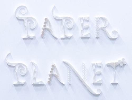嶋田瑠美子 PAPER PLANET